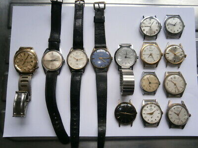 $ CDN27.50 • Buy Job Lot Of Vintage Gents Watches Mechanical Watches Spares Or Repair Swiss Made