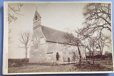 £3 • Buy Cabinet Card By Tune & Co, Tottenham, Of A Church