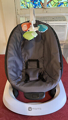$ CDN48.57 • Buy ❤️4moms Mamaroo Bounceroo Gray And Black W/ Reversible Toy Great Condition!