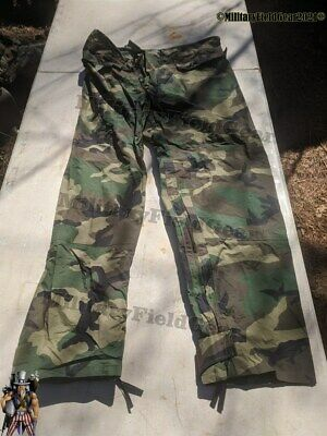 $19.99 • Buy US Military ORC Improved Rain Gear Wet Weather Pants Trousers Men's Size Small