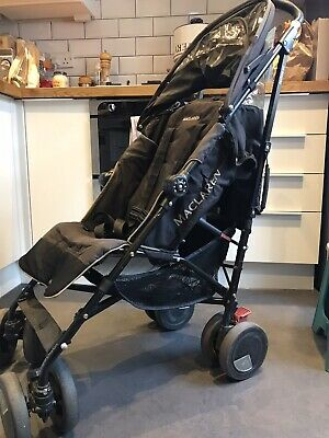 £36 • Buy Maclaren TechnoXT Pushchair Buggy Umbrella Fold With Cosy Toes & Raincover