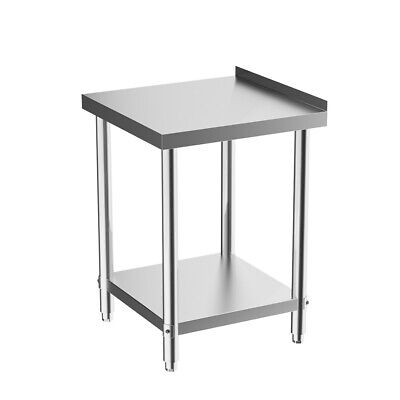 £95.95 • Buy Stainless Steel Work Bench Catering Table Kitchen Food Prep Worktop Commercial