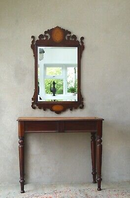 £285 • Buy Large Antique Regency Mirror Mahogany - Delivery Available