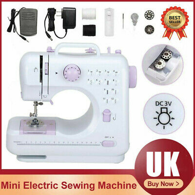 £26.86 • Buy Electric Overlock Sewing Machine Small Household Sewing Tool 2 Speed 12 Stitches