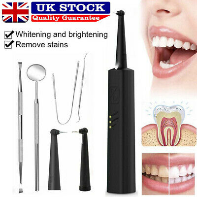 £16.39 • Buy 3 In 1 Tooth Polishing Cleaner Ultrasonic LED Electric Oral Teeth Cleaning Kit
