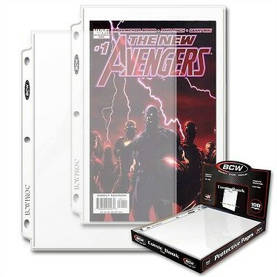 £23.99 • Buy Comic Book Display And Storage Pages X 100 Page Box