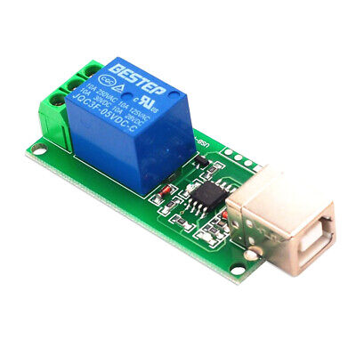 £4.99 • Buy 1 Channel 5V USB Relay Module Control Switch Computer Control Switch Board