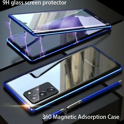 $ CDN11.91 • Buy For Samsung Galaxy Note 20 Ultra 10 Plus 9 Full Magnetic Metal Glass Case Cover