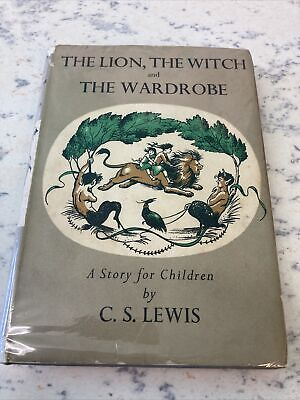 £120 • Buy The Lion, The Witch And The Wardrobe By C S Lewis Edition Geoffrey Bles .1958
