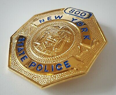 £18.99 • Buy Obsolate Historical Police Badge.... New York State Police No.800