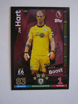 £0.80 • Buy Match Attax Extra 2018/19 Boost Card - Joe Hart Of Burnley