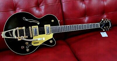 $ CDN1199 • Buy Gretsch G5655TG Electromatic Electric Guitar Centre Block Black Gold NEW