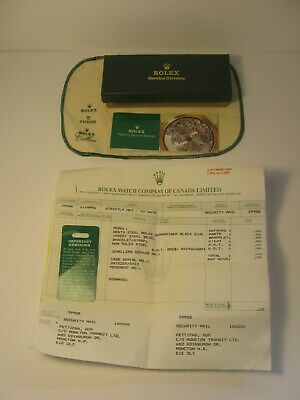 $ CDN48.40 • Buy 1996 Rolex Watch Box Service Division Canada