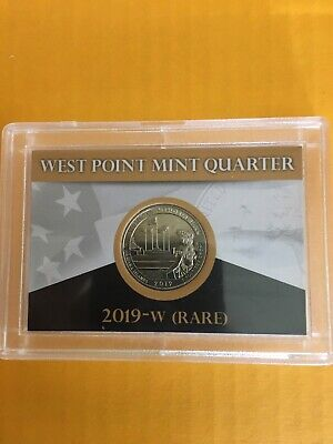$ CDN15.12 • Buy 2019-W AMERICAN MEMORIAL PARK West Point Quarter - 🅰️Ⓜ️🅿️ Shipped In Coin Case