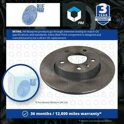 £42.17 • Buy 2x Brake Discs Pair Solid Fits VAUXHALL CORSA C Rear 1.4 1.7D 00 To 06 264mm Set