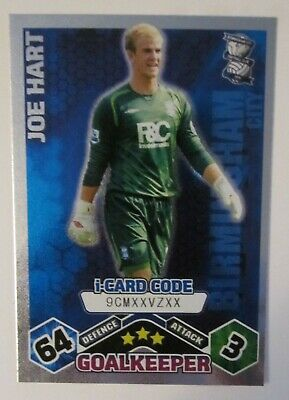 £0.99 • Buy Match Attax 2009/10 I-card Joe Hart Of Birmingham City