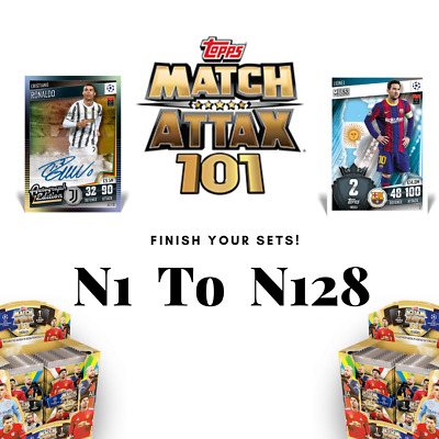 £1.99 • Buy Match Attax 101 | 2020-2021 | Finish Your Collection | Cards From 1 To 128