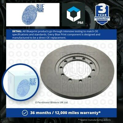 £42.94 • Buy 2x Brake Discs Pair Solid Fits FORD TRANSIT 2.2D Rear 11 To 14 280mm Set ADL New