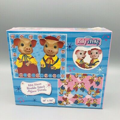 £17.50 • Buy Rare Sealed Pinky & Perky Jigsaw Puzzle New And Sealed 200 Piece