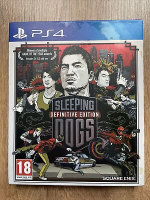£3.10 • Buy Sleeping Dogs Definitive Edition Game Ps4 PlayStation 4