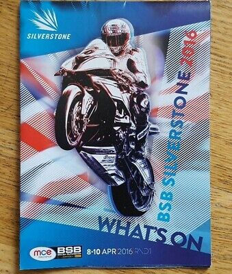 £0.99 • Buy BRITISH SUPERBIKES..bsb...WHATS ON GUIDE 2016. NEW..