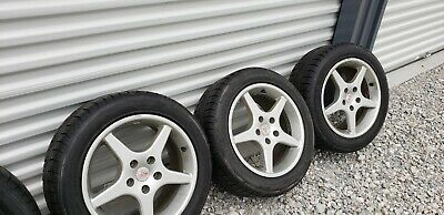 """$700 • Buy FOUR  BMW 1000 Mille Miglia 16x8"""" 5x120 Wheels WITH TIRES 205 55 16 TIRES"""