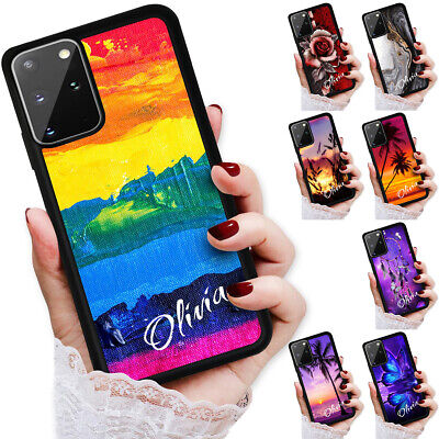 AU9.99 • Buy Personalised Name Palm Case Cover For Oppo A54 A74 Reno 4 Z A91 A52 A73 A53