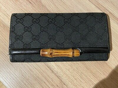 AU120 • Buy Preloved Gucci Bamboo Long Wallet
