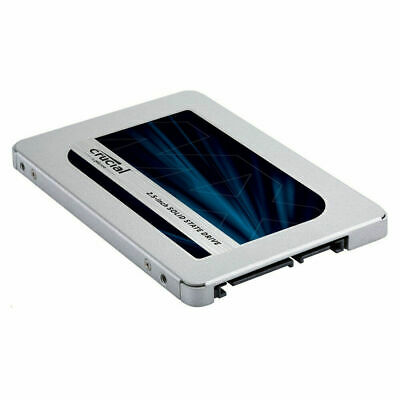 $ CDN477.93 • Buy Lot Of 8) 500GB SSD Crucial MX500 2.5  7mm Solid State Drives (CT500MX500SSD1)
