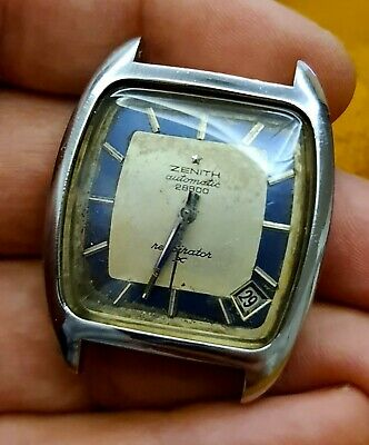 $ CDN241.99 • Buy Vintage Zenith  Respirator Automatic Mens Watch 2562 Pc For Parts