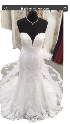 $ CDN767.06 • Buy Mon Cheri Wedding Dress