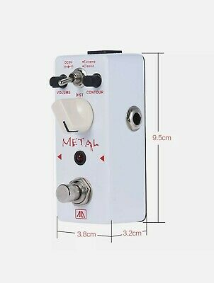 $ CDN42.61 • Buy AA AHOR-5 Heavy Distortion Pedal Classic Metal Guitar Effect Pedal 2 Modes UK