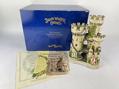 £72.39 • Buy David Winter Cottages The Kingmakers Castle 1994 Limted Ed Box COA New In Box