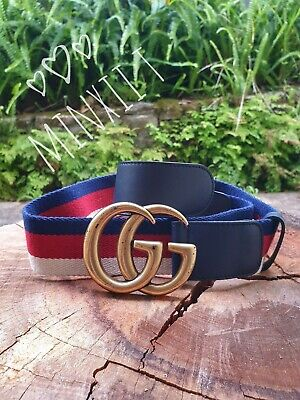 AU505 • Buy Gucci Sylvie Web Belt Canvas