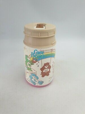 £15.99 • Buy Vintag Aladdin Hard Plastic Care Bears Kid's Thermos Flask No Cup Spout Lid 1986