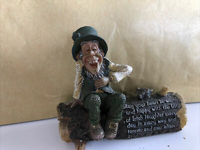 £6.50 • Buy Vintage Blarney Stone Enterprises Figurine May Your Heart Be Warm And Happy