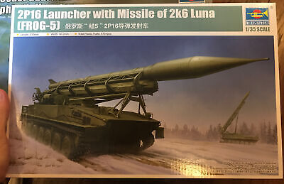 $79.99 • Buy Trumpeter 1/35 09545 2P16 Launcher With 2K6 Luna Missile Military Model Kit