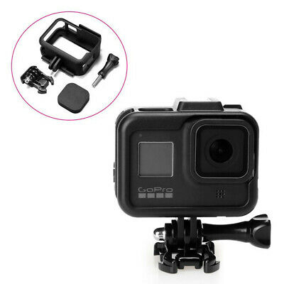 AU13.37 • Buy Mount Frame For GoPro HERO 9 Camera Protective Case Housing Accessories