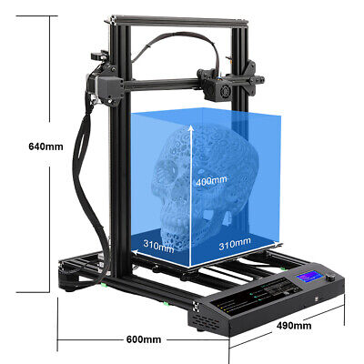 £239.99 • Buy Beliveer 3D Printer 310X310X400mm Large Print Size Dual Axis Model Heated Bed