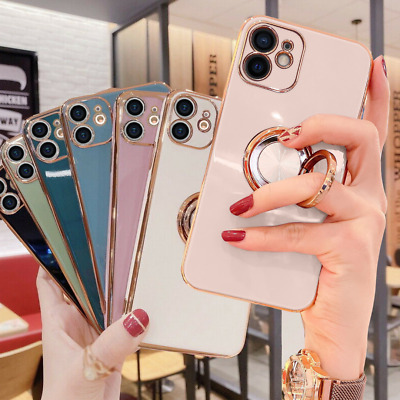 AU9.89 • Buy For IPhone 12/Pro/Max/Mini 11 XS XR 8 Shockproof Case Soft Silicone Luxury Cover
