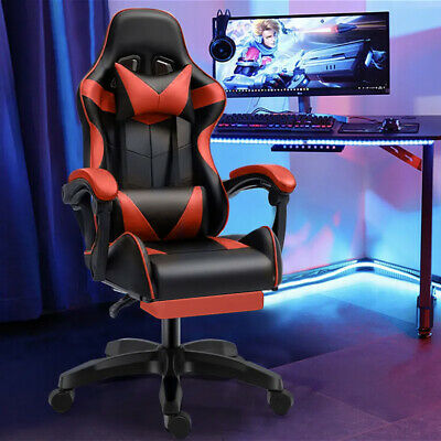 £69.99 • Buy Executive Racing Gaming Computer Office Chair Adjustable Swivel Recliner