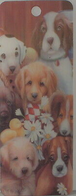£2.85 • Buy Puppies Dogs Holographic 3D Bookmark 15.5cm X 5.75cm Without Tassel