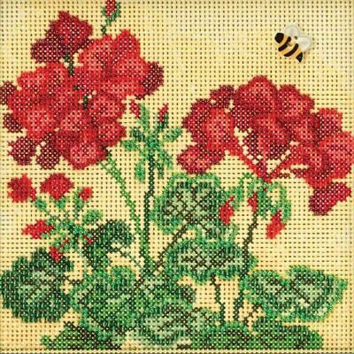 $12.99 • Buy Mill Hill 2018 Buttons & Beads Spring Series  ~ Geranium ~ MH141816