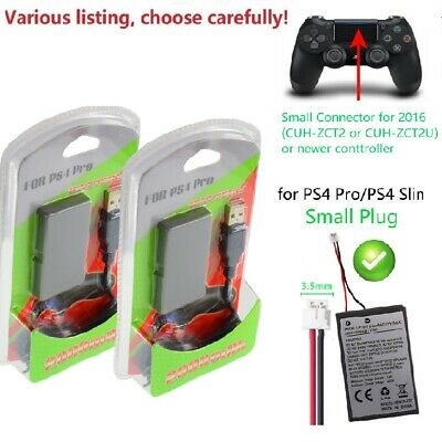 AU25.91 • Buy Rechargeable Battery For SONY PS4 Pro Controller With Charging Cable 2000mAh New