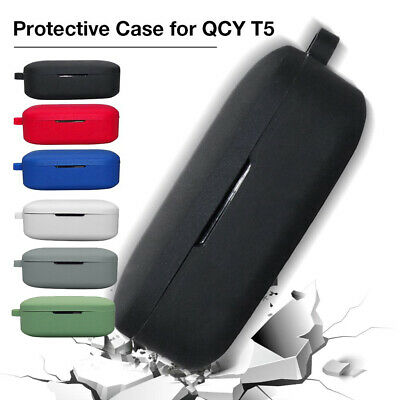 $ CDN8.06 • Buy Silicone Case For QCY T5 Wireless Headset Protective Sleeve Cover