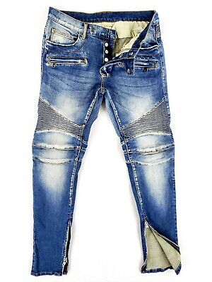 $ CDN51.97 • Buy Mnml 31 Skinny Jeans Stretch Denim Ankle Zippers Distressed Moto Button Fly