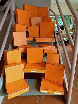 AU50 • Buy Authentic Empty Hermes Boxes • BRAND NEW • PRISTINE • Various Sizes Incl Ribbon
