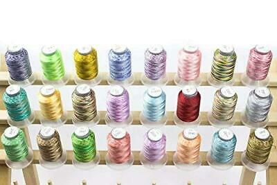 $32.99 • Buy Embroidex 24 Spools Variegated Embroidery Machine Thread