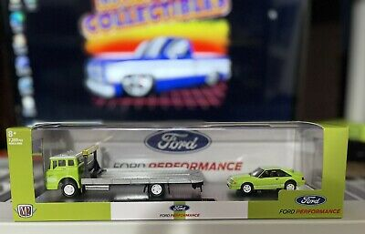 $ CDN21.80 • Buy M2 Machines Auto-haulers 1990 Ford C-8000 Rollback & 1988 Mustang Gt