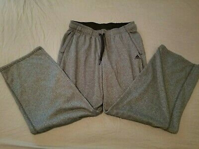 $ CDN24.24 • Buy Mens Adidas Pants L Large Gray Athletic Gym Workout